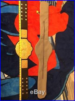 Sting WCW World Heavyweight Champion championship title belt metal replica WWE
