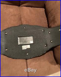 Stone Cold Steve Austin Signed WWE Block Logo Intercontinental Championship Belt