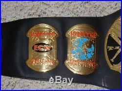 TAZ VERSION ECW WORLD CHAMPIONSHIP 1999 METAL ADULT REPLICA TITLE BELT wwe tazz