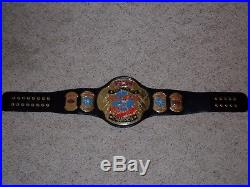 TAZ VERSION ECW WORLD CHAMPIONSHIP METAL ADULT SIZE REPLICA TITLE BELT wwe tazz