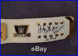 The Honky Tonk Man Hand Signed Wwf Wwe Intercontinental Championship Title Belt