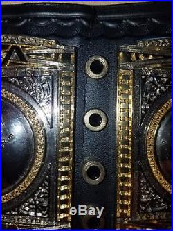 TNA Championship belt Replica title belt Adult sized metal plates