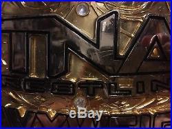 TNA Impact Wrestling championship belt signed WWE WCW WWF Autographed Sting