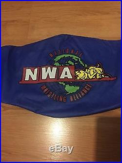 TNA NWA X DIVISION CHAMPIONSHIP TITLE REPLICA BELT very rare AJ Styles WWE metal