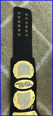 TNA World Heavyweight Championship Adult Size Replica Belt & Ring WWE TNA