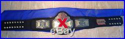 Tna X Division Championship Wrestling Belt Nwa Title Belt Wwe Wwf Wcw Ecw Flair