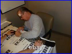 Terry Funk Signed WWE ECW World Championship Toy Belt PSA/DNA COA NWA Autograph