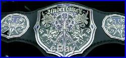 The Phenom Undertaker Adult Size Wrestling Championship Belt WWE WWF WCW ECW