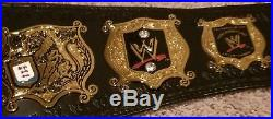 The Undertaker Signed Undisputed Wwe Championship Belt Exact Proof Jsa Loa
