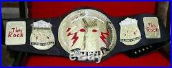 The rock wwe championship belt adult replica