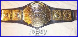 Tna Impact Wrestling World Championship Replica Belt Autographed Aj Styles Wwe
