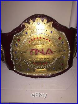Tna Roh gfw Wwe Legends Championship title belt