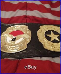 Tna World Wrestling United States Championship Belt Adult Size