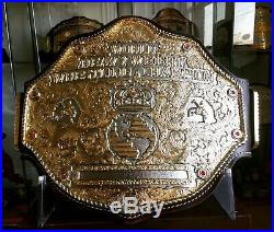 Top Rope Belts Jeweler Style Big Gold Crumrine Championship Belt WCW WWE WWF