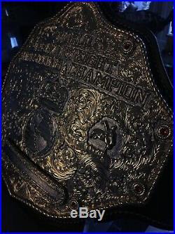 Top Rope Belts Jeweler Style Big Gold Crumrine Championship Belt WCW WWE WWF