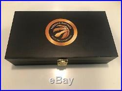 Toronto Raptors 2019 NBA Champions WWE Championship Belt Side Plates Champs Box