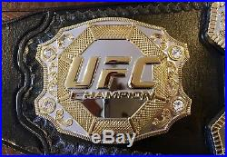 Ufc Mega Deluxe Releathered Championship Belt Wwe Mma