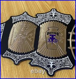 Undertaker 30 Years Signature Series Championship Title Wwe Adult Replica Belt