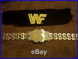 Used WWE Million Dollar Championship Replica Title Belt Metal Faux Diamonds Look