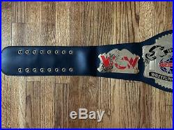 WCW Cruiserweight Championship Belt Replica Figures Inc WWF WWE Mysterio Jericho