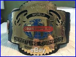 WCW Cruiserweight Championship Belt WWE
