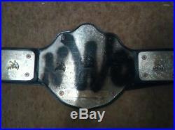WCW Custom NWO Championship Belt Adult Metal Replica