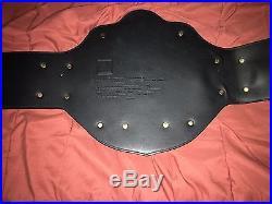 WCW Heavyweight Championship Adult Replica Title Belt 1998 Goldberg Plate WWE