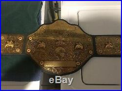 WCW NWA World Heavyweight Championship Belt 1998 Figures Inc Toy Company WWF WWE