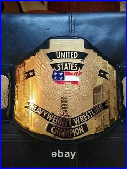 WCW United States Championship Belt Adult Replica Authentic Toy Figures Co