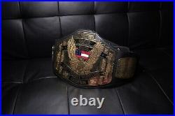 WCW United States Title Belt 1999 FigsToyCompany WWE Wrestling Championship