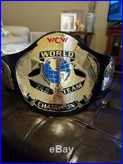 WCW WORLD TAG TEAM CHAMPIONSHIP BELT ADULT SIZE REPLICA official wwe merchandise