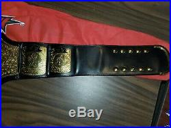 WCW WWE Television Championship Adult Replica Belt with Cover