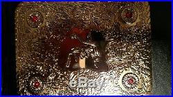 WCW WWE World Heavyweight Championship Replica Belt