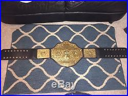 WCW World Heavyweight Championship Replica Title Belt Figures Toy Co. Adult Wwe
