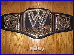 WWE 2012 World Heavyweight Championship Replica Authentic Adult Title Belt