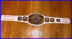 WWE 2014 Intercontinental Championship Dolph Ziggler & Kevin Owens Signed Belt