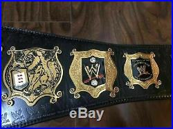 WWE 2mm Undisputed Entertainment Replica Championship Title Belt
