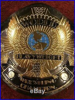 WWE 4MM DUAL PLATED Winged Eagle Wrestling Championship Metal Replica Adult Belt