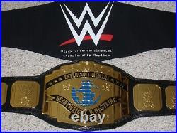 WWE AUTHENTIC 1990's INTERCONTINENTAL IC CHAMPIONSHIP METAL ADULT REPLICA BELT