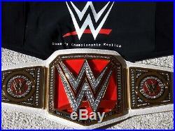 WWE AUTHENTIC RAW WOMENS CHAMPIONSHIP METAL ADULT REPLICA TITLE BELT sasha banks