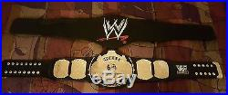 WWE AUTHENTIC REPLICA Championship Belt Winged Eagle Adult Size Strap WWF WCW