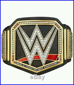 WWE AUTHENTIC Replica WORLD HEAVYWEIGHT CHAMPIONSHIP TITLE BELT Brand New Adult