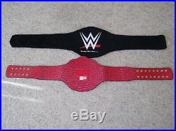 WWE AUTHENTIC WORLD HEAVYWEIGHT CHAMPIONSHIP METAL ADULT REPLICA TITLE BELT wcw