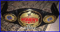 WWE Adult Metal Women's Championship Belt (2002 Era)