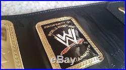 WWE Attitude Era BIG EAGLE World Heavyweight Championship Belt Replica WWF WCW