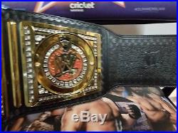 WWE Authentic Championship Replica Title Belt Adult Size withOrton Side plates