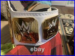 WWE Authentic Intercontinental Championship Releathered By Romeo Anderson. Mint