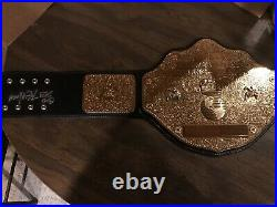 WWE Authentic Replica WCW World Heavyweight Championship Signed By Kevin Nash