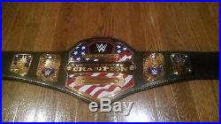 WWE Authentic US United States Championship Adult Size Replica Title Belt (2014)