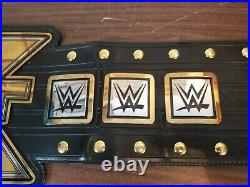 WWE Authentic Wear NXT Championship Replica Title Belt Adult Size Version 1 Used